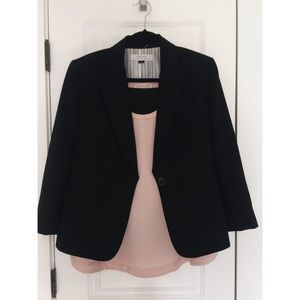 Tahari Skirt Suit + Philosophy Tank
